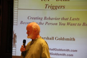 Marshall Goldsmith at June 2016 Coach Connect
